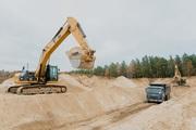 Оперативная доставка песка,  щебня и ЩПС от фирмы «НТМ-СТРОЙ»
